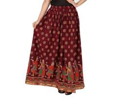 Archiecs Creation Self Design Women's Regular Skirt (Free Size-SKT508)