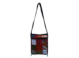 The Living Craft MIX PATCHWORK WOMEN's SLING BAG Multicolor TLCBG0232