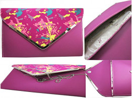 Brown Leaf Women Regular Series Pink Hand wallet clutch for women,Girls,Ladies