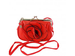 Women Regular Series Pu Leather Hand wallet clutch for women,Girls,Ladies RED