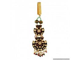 Vatika High Quality True (Pakka) Meenakari Waist Key Chain (Satka) 6