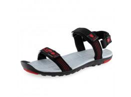 Lancer Men's Sandal - Black Red