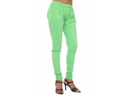 Pezzava Women's Wear Cotton Light Green Color in york work
