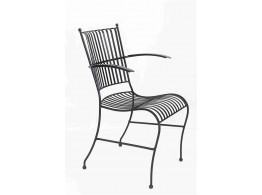 Iron Emil chair (stackable with handle)