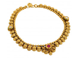 SPE Gold Metal Anklets for Women (AN-03)