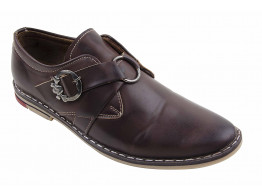 Cocktaill brown formal shoes