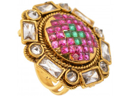 SPE Multicolor Round Ring for Women & Girl (SPE R 34)