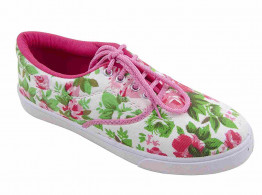 Cocktaill girls canvas shoes printed