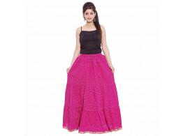 Archiecs Creation Self Design Women's Regular Skirt (Free Size-SKT504)