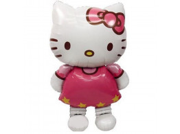 Hello Kitty Cat Foil Party Inflatable Air Balloon