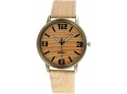 Angelfish wood grain watch luxury high-grade quartz watch for men and women