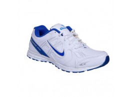 Glamour White R Blue Sports Shoes (ART-6060)