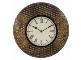 Metalic Vintage Wall Clock