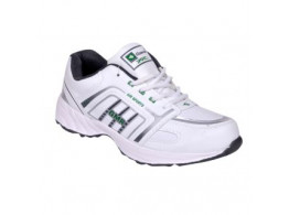 Glamour White Green Sports Shoes (ART-3052)