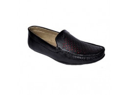 Glamour Black Loafers (Art-L08)