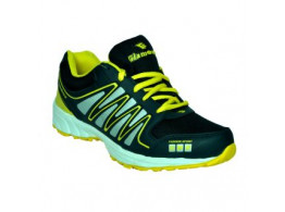 Glamour Blue Yellow Sports Shoes (ART-3039)