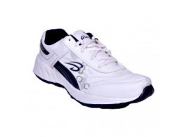 Glamour White Blue Sports Shoes (ART-1026)
