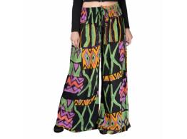 Elasticated Waist Reyan Cotton Trousers