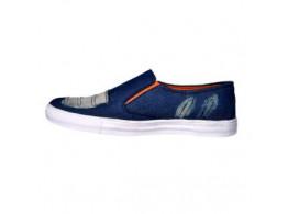 Glamour Blue Orange Sneakers (Art-L013)