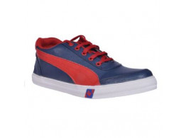 Glamour BlueRed Casual Shoes