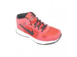 Glamour Black Red Sports Shoes (ART-4041)