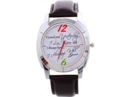 Excel Gpaphic Analog Watch - For Men & Women