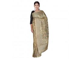TLC's Tribal Design Women Kosa Silk Handwoven Saree