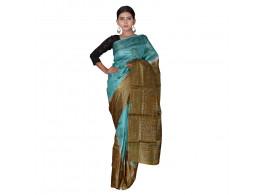 TLC's Dual Tone Women Kosa Silk Handwoven Saree