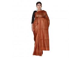 TLC's Solid Women Kosa Silk Handwoven Saree