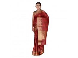 TLC's Spiking Temple Women Kosa Silk Handwoven Saree