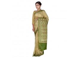 TLC's Festive Bloom Women Kosa Silk Handwoven Saree