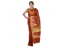 TLC's Temple Tale Women Kosa Silk Handwoven Saree