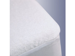 "Krishna Water Proof Mattresse Protector King Size - White 78""X 72"""