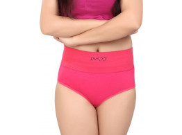 Pusyy Women's Hipster Pink Panty  (Pack of 1)