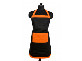 Switchon Waterproof Black and orange Apron free size