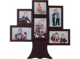 Divinecrafts Glass Photo Frame  (Photo Size - 10x10,10x15, 6 Photos)