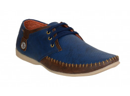 RUDOSE Men's BLUE & BROWN Casual Shoes