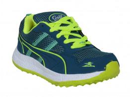 RUDOSE Men's BLUE GREEN GOLF Running Sports & Casual Shoes