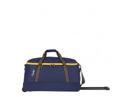 SKYBAGS BOOM DUFFLE TROLLEY 57 BLUE