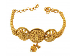 Spe Indian Ethnics Golden Copper Bajuband for Women (A-13)
