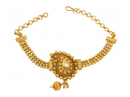 Spe Indian Ethnics Golden Copper Bajuband for Women (A-16)