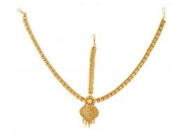 Spe Indian Ethnics Golden Copper Maang Tikka for Women (FHL-07)