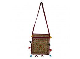 The Living Craft KALAMKARI WOMEN's SLING BAG Multicolor TLCBG0218