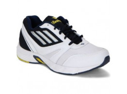 Glamour White Blue Sports Shoes (ART-7512)