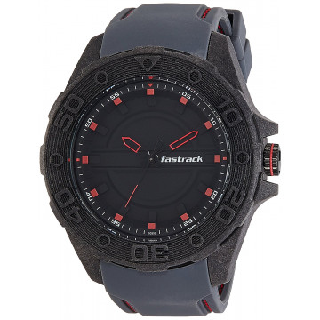 Fastrack 38030PP01J Analog Black Dial Men Watch