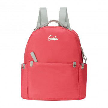 Geine Crush Peach Backpack For Girl's