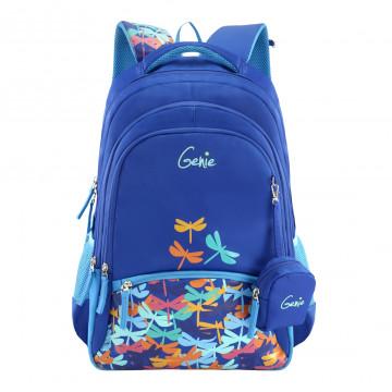 GENIE BUZZ BLUE 17 SCHOOL BAGS FOR GIRLS