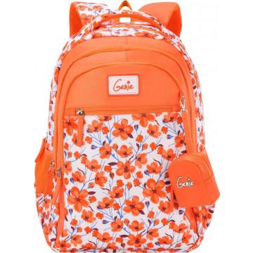 GENIE CAMELLIA  ORNAGE 17 SCHOOL BAGS FOR GIRLS