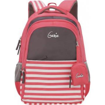GENIE NAUTICAL PLUS PINK 27L SCHOOL BAGS FOR GIRLS