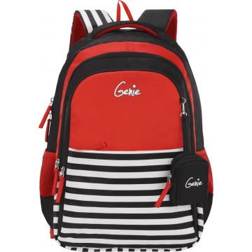 GENIE NAUTICAL PLUS RED 17 SCHOOL BAGS FOR GIRLS